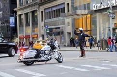 Den New York City polisen Royaltyfri Fotografi