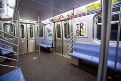 Den New York gångtunnelen fotografering för bildbyråer