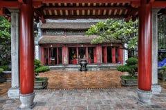 Den Ngoc son temple, Hoan Kiem Lake, Hanoi. Den Ngoc son temple in Hoan Kiem lake, Hanoi, Vietnam royalty free stock photography