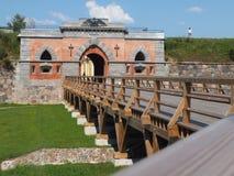 Den Nikolaev porten Arkivfoto