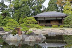 Den Ninomaru trädgården Royaltyfri Foto