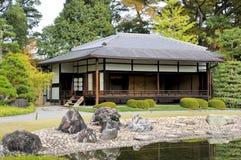 Den Ninomaru trädgården Royaltyfria Bilder