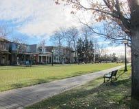 Den nionde historiska gatan parkerar Fotografering för Bildbyråer