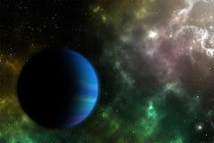Den nionde planeten nio Royaltyfria Bilder