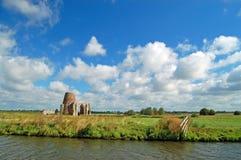 Den Norfolk sjödistrikt i Norfolk, England Arkivbild