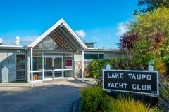 DEN NORR ÖN, NYA SJÄLLAND MAY 18, 2017: Yatch klubba i det norr öområdet, Nya Zeeland Arkivbild
