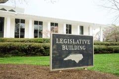 Den norr Carolina State Legislature royaltyfri foto