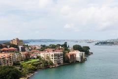 Den norr kusten av Sydney, Australien Arkivbilder