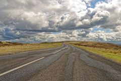 Den norr yorken förtöjer, yorkshire, England arkivfoto