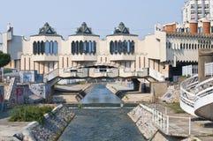 Den Novi Pazar staden centrerar Arkivbild