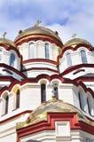Den nya Athos kloster i Abchazien Juli 2016 Arkivbilder
