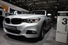 Den nya BMW Serie 3 Gran Turismo Fotografering för Bildbyråer