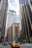 den nya cabstaden taxar gula york Arkivbilder