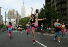 den nya dansen ståtar york Arkivbild