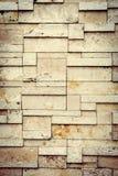 Den nya designen av den moderna väggen Royaltyfri Foto
