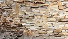 Den nya designen av den moderna väggen Royaltyfri Bild