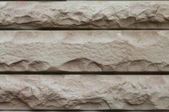 Den nya designen av den moderna väggen arkivbild