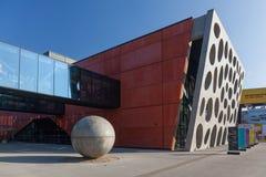 Den nya etappen, ny teater, Plzen Royaltyfri Foto