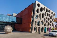 Den nya etappen, ny teater, Plzen Fotografering för Bildbyråer
