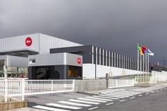 Den nya fabriken av den iconic Leica kameraproducenten i Portugal Arkivbilder