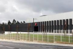 Den nya fabriken av den iconic Leica kameraproducenten i Portugal Arkivfoton