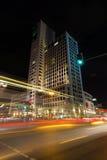 Den nya Hilton Hotel (Zoofenster) i västra - berlin Royaltyfri Foto