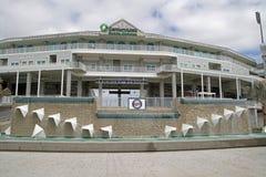 Den nya ingången till Hammond Stadium Arkivfoton