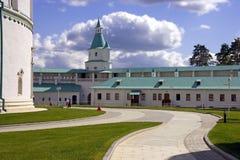 Den nya Jerusalem kloster Royaltyfria Foton