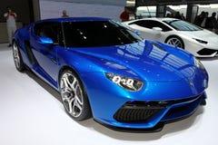Den nya Lamborghini Asterion Fotografering för Bildbyråer