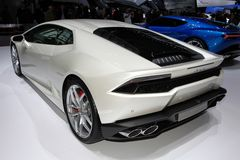 Den nya Lamborghini Huracan Royaltyfri Foto