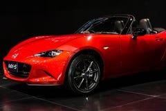 Den nya Mazda MX-5 Royaltyfri Foto