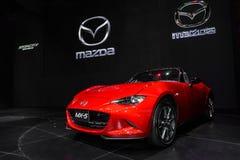 Den nya Mazda MX-5 Fotografering för Bildbyråer