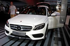 Den nya Mercedes C-gruppen Royaltyfria Bilder
