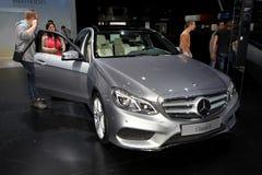 Den nya Mercedes E-gruppen Arkivbild