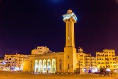 Den nya moskén i Luxor Arkivfoton