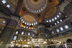 Den nya moskén (Yeni Cami), Istanbul, Turkiet Royaltyfria Foton