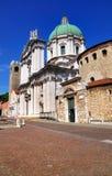Domkyrka i Brescia, Italien Royaltyfria Foton