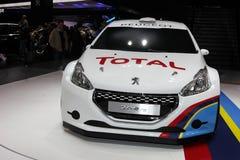 Den nya Peugeot 208 RS royaltyfri bild