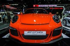 Den nya PORSCHE 911 GT3 RS Arkivfoto