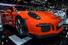 Den nya PORSCHE 911 GT3 RS Royaltyfria Foton