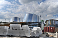 Den nya Rio Tinto Alcan Planetarium Royaltyfri Foto