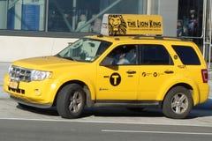 den nya staden taxar york Arkivfoto