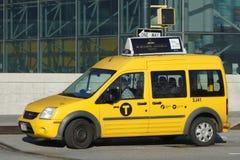 den nya staden taxar york Arkivbilder