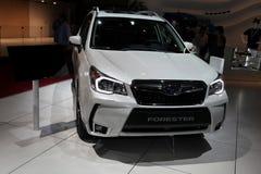 Den nya Subaru skogvaktaren Arkivfoton