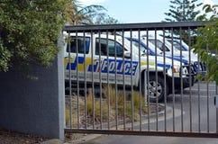 Den nyazeeländska polisen Fotografering för Bildbyråer