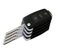 Den nyckel- bilen står hög Arkivfoton