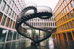 Den oändliga trappuppgången av Olafur Eliasson i Munich Royaltyfria Foton