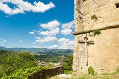 Den oändliga tron i dalen av Casentino, Tuscany Arkivbild