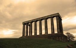 Den oavslutade nationella monumentet Royaltyfri Fotografi