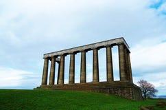 Den oavslutade nationella monumentet Arkivbilder